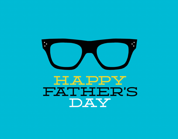 Trendy Glasses Father's Day Card