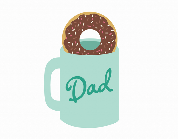 Mug Father's Day Card