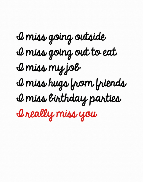 Miss You List