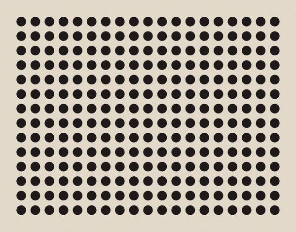 Black Dot Geometric Stationery