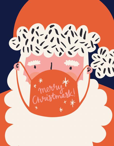 Santa Christmask