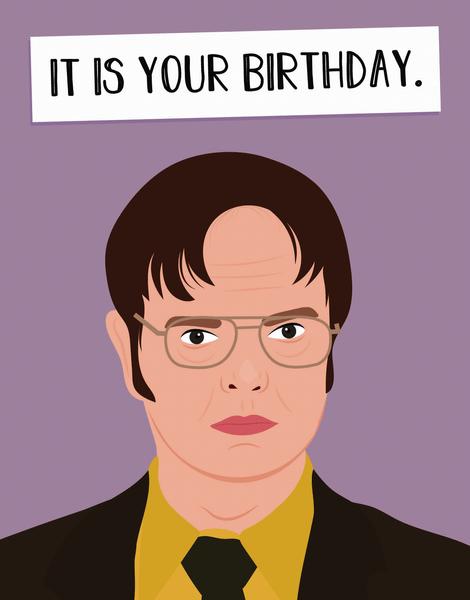 Dwight Birthday