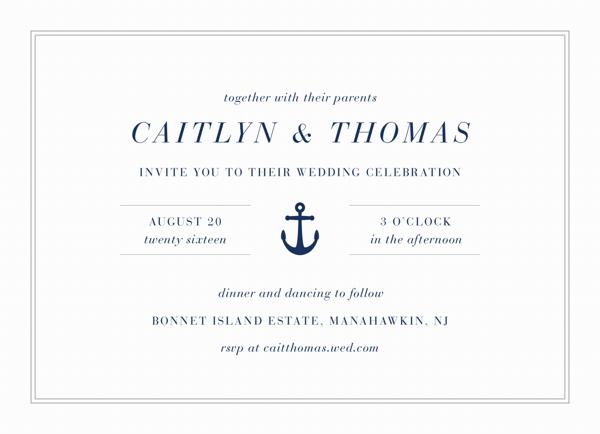 Nautical Wedding