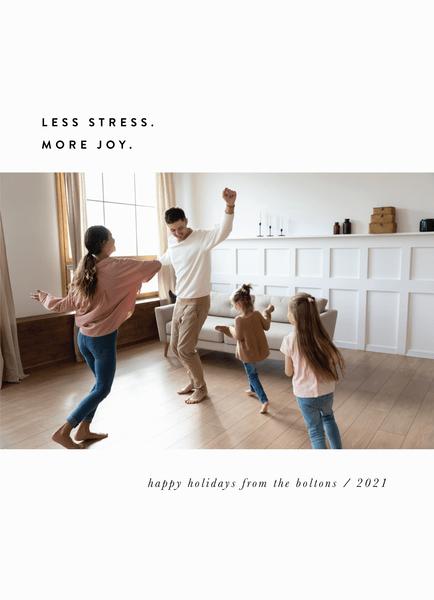 Less Stress More Joy
