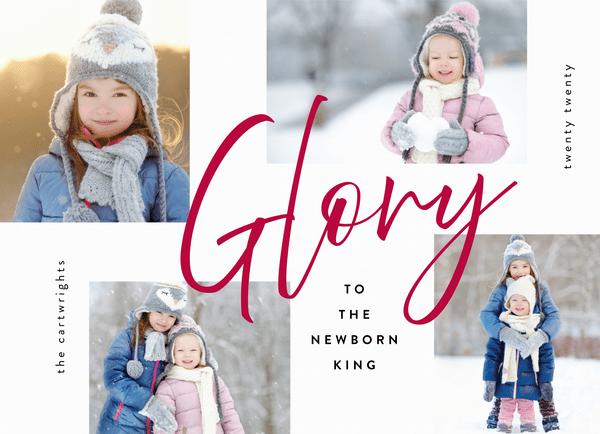Glory To The Newborn King