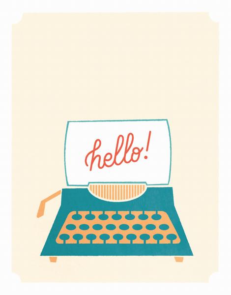 Hello Typewriter