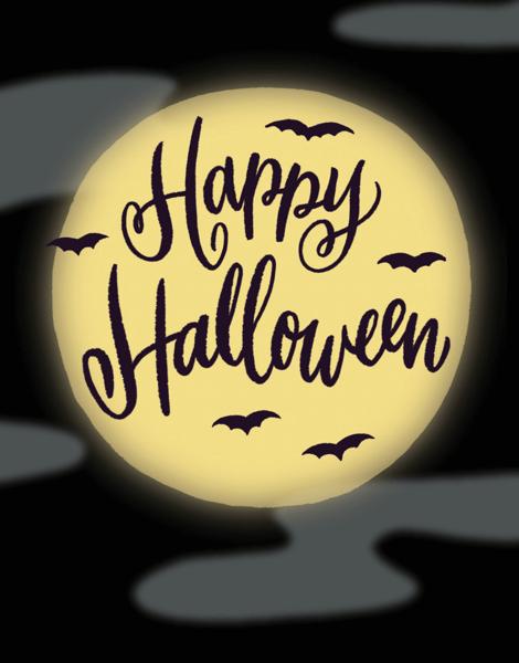 Full Moon Halloween