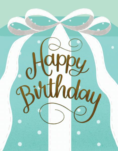Birthday Gift Box