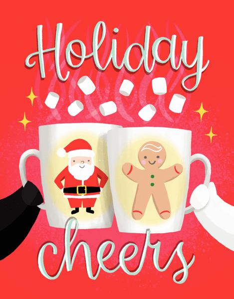 Holiday Cheers Mugs