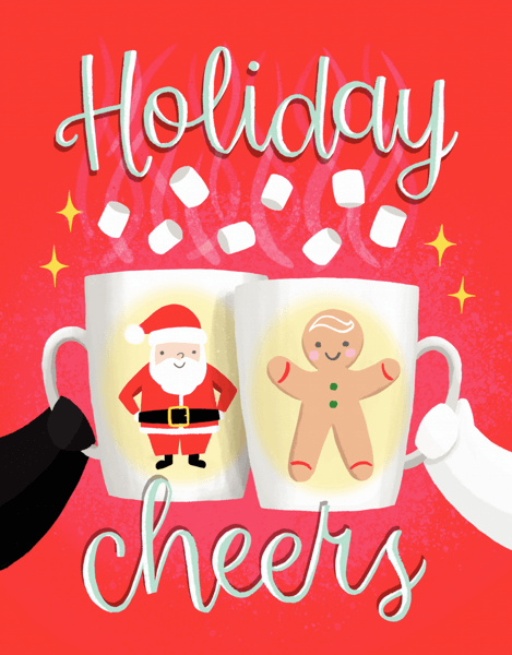 Holiday Cheers Mugs