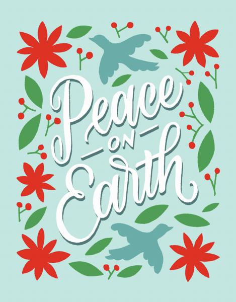 Peace On Earth Bird Folk