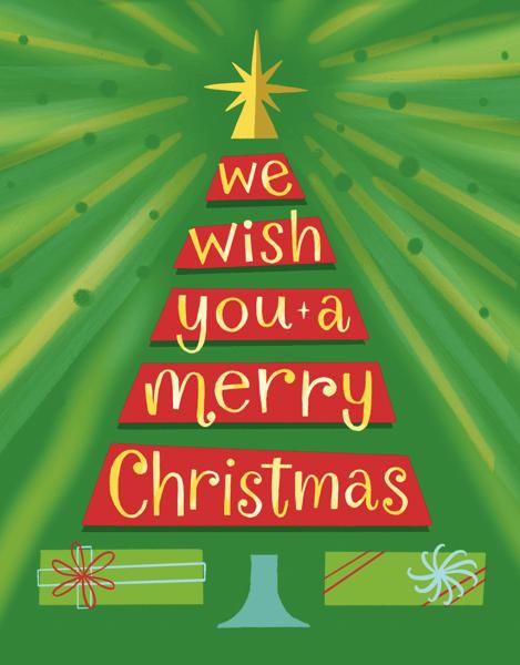 Tree Wish You Merry