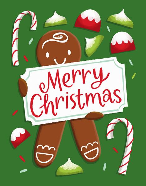 Gingerbread Greetings
