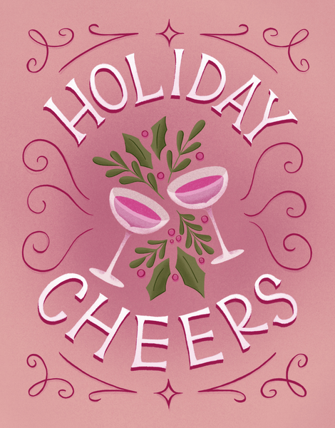 Holly Holiday Cheers