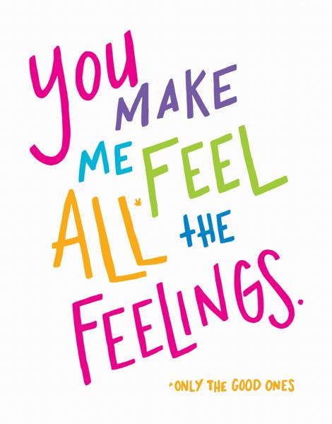 All The Feelings