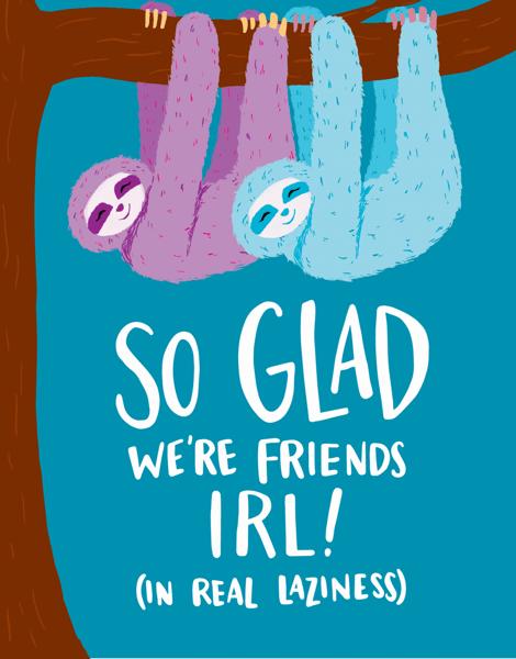 Lazy Friends