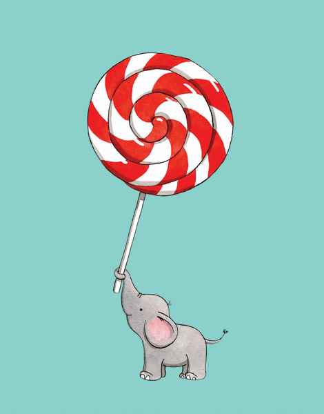 Elephant Lollipop