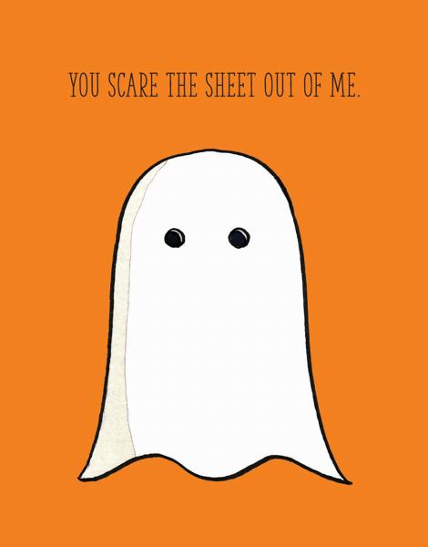 Scared Sheet
