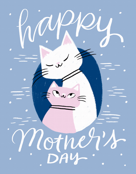 Mother's Day Cats