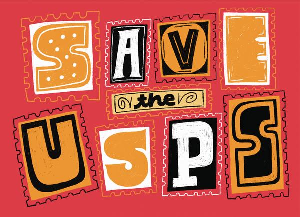 Orange Save USPS
