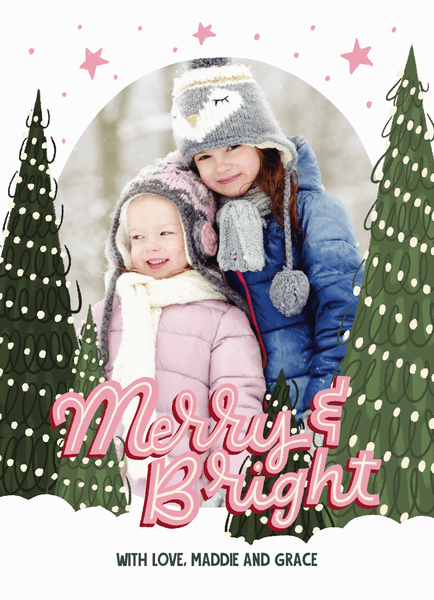 Merry And Bright Frame