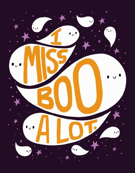 I Miss Boo A Lot