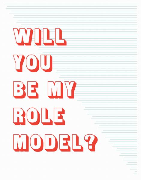 Role Model Friendship Card