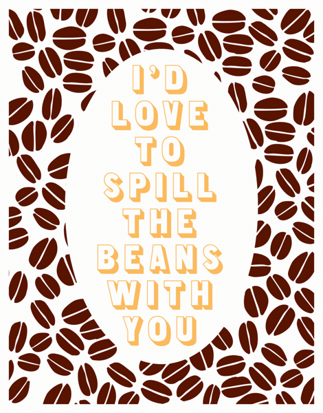 Coffe Love  Card