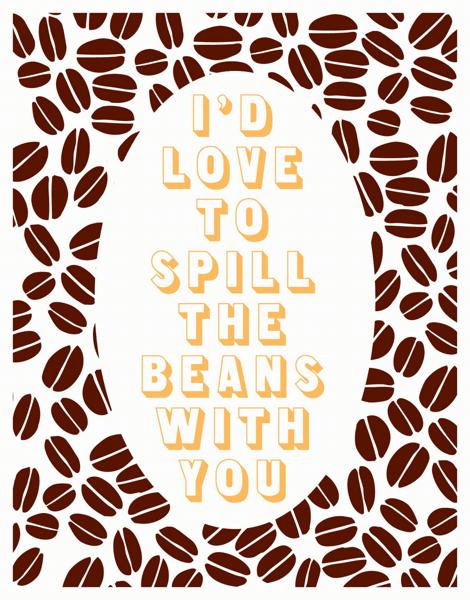 Coffe Love  Card