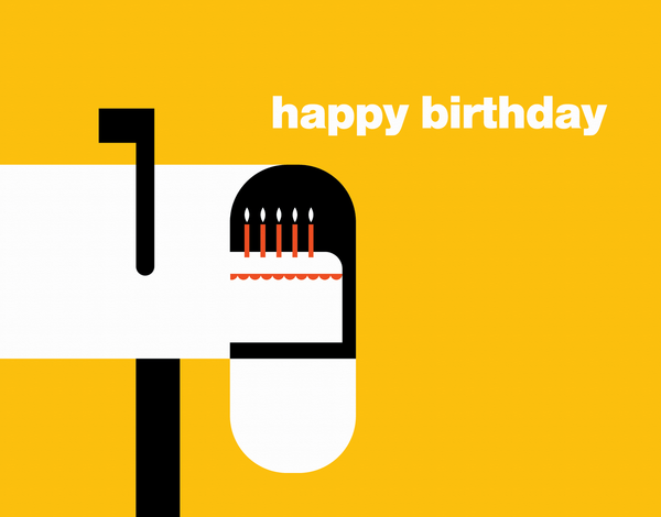 Cake Delivery Birthday Card