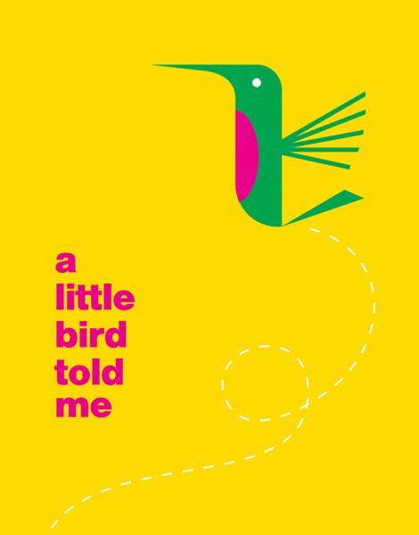 Colorful Little Bird Card