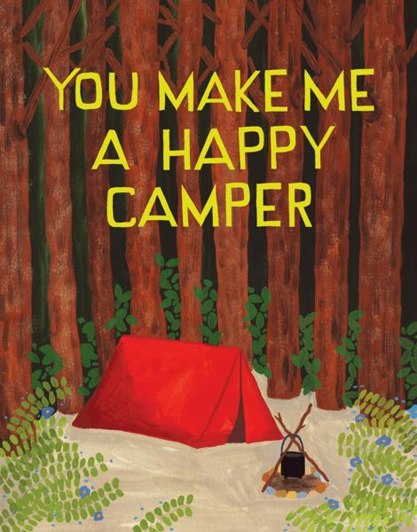 Happy Camper Card