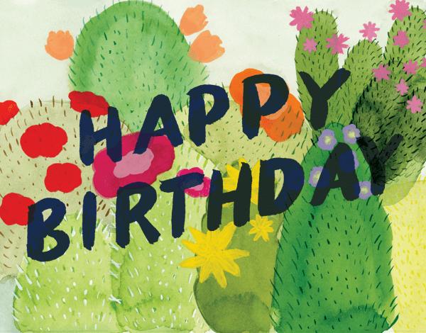 Cacti Birthday