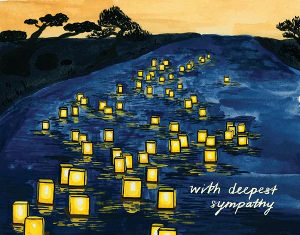 Japanese Lanterns Sympathy