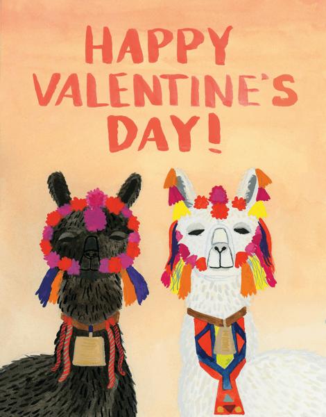 Llamas Valentine