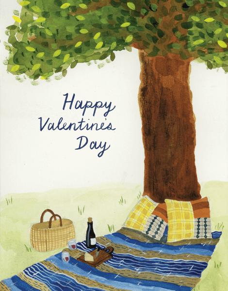 Picnic Valentine