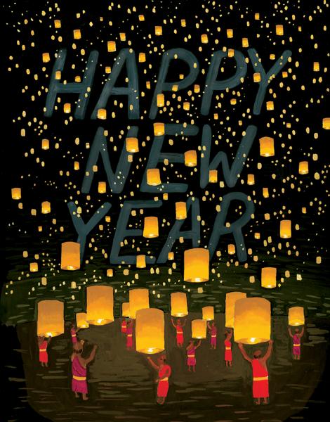 Thai Lanterns New Year