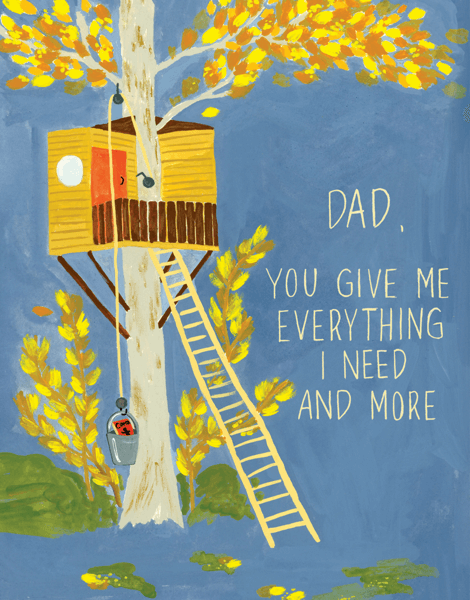 Father's Day Treehouse