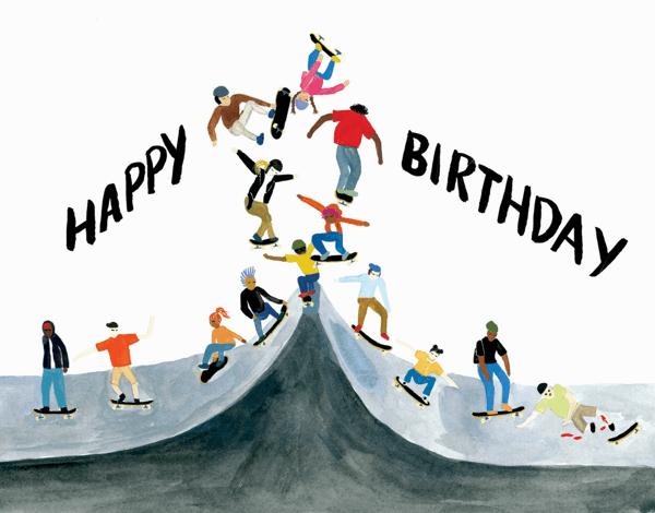 Skater Birthday