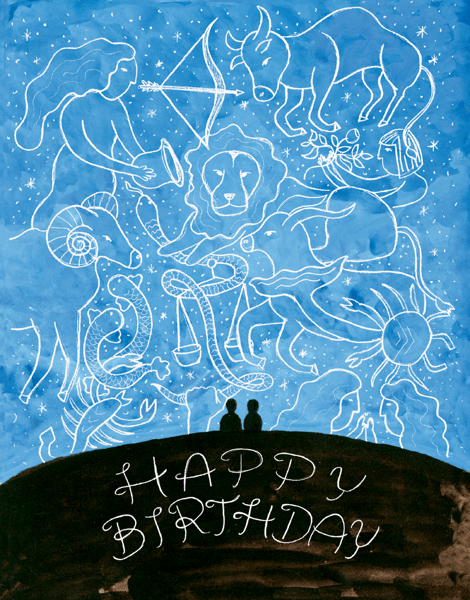 Zodiac Constellation Birthday