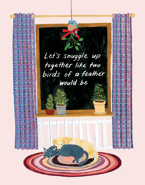 Snuggled Up Together