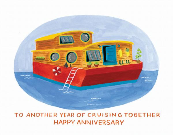 Houseboat Anniversary