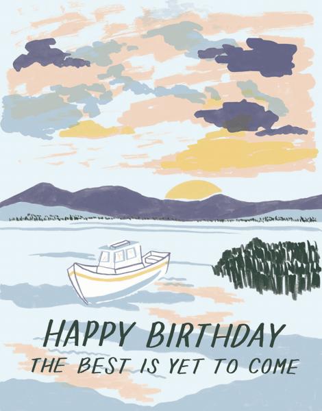 Sunrise Birthday