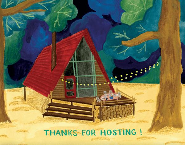 Thanks For Hosting
