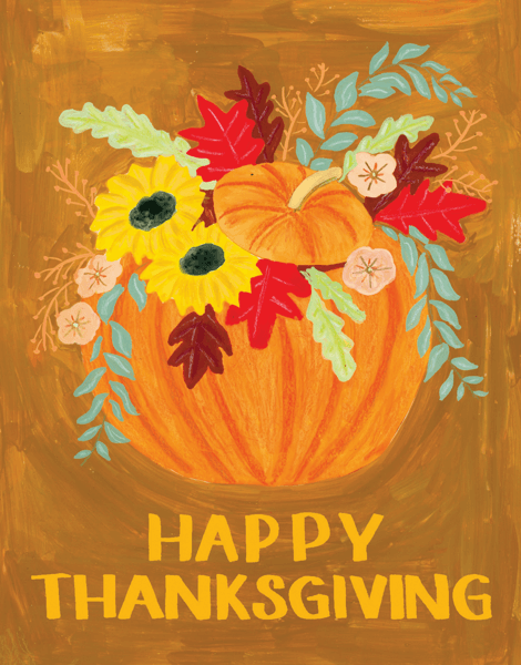 Thanksgiving Pumpkin