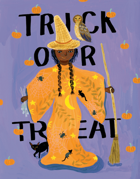 Trick Or Treat Witch