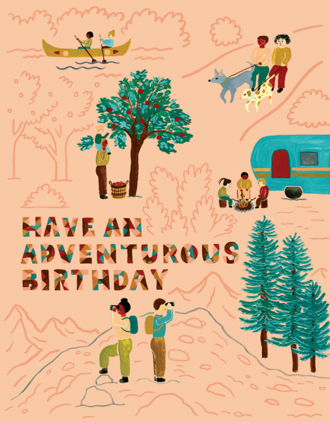 Adventurous Birthday