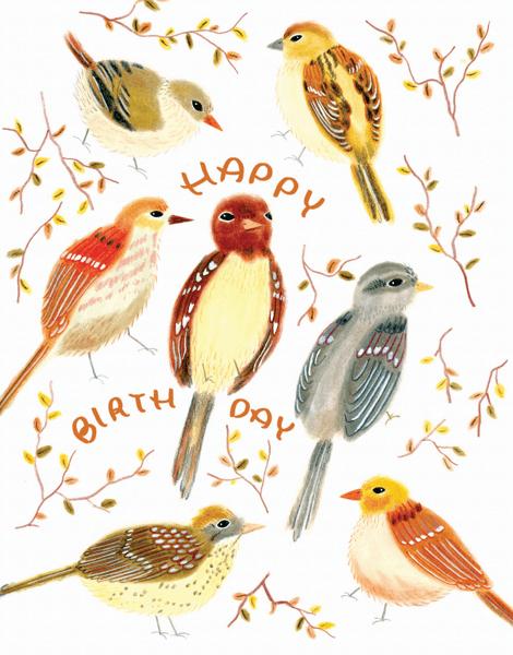 Birthday Birds