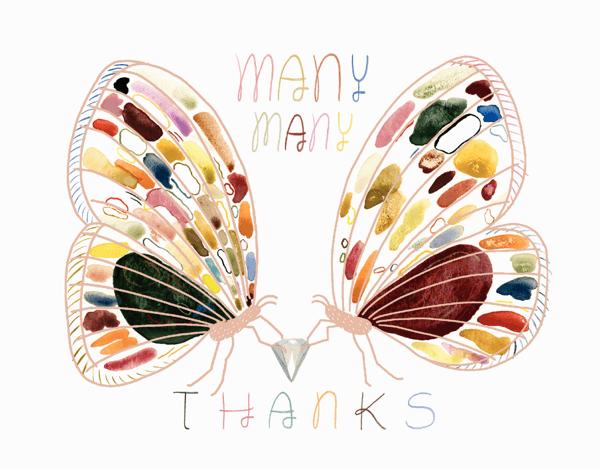 Many Thanks Moths