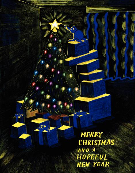 Midnight Christmas Tree